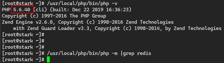 php5.6安装redis扩展模块