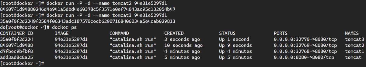 Docker常用命令之容器篇